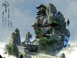 洛克猴东方写实场景合集
