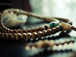 DIY全阴皮星月菩提、绿松石配珠手串(改款)