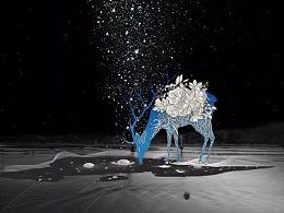 雪夜繁星,爱之弥坚,情如磐石