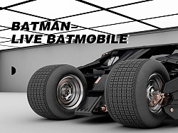 [C4D]×蝙蝠侠战车