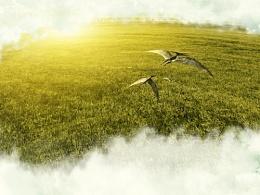 草地与小怪兽的合成联系