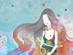 海量美图之绘本创作 《生命就是一个圈》 by 番茄Fanqie