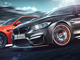 CGI摄影 BMW M3/M4 GTS