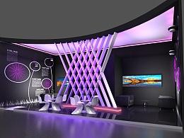 展览展台设计——灯光加强