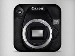 Canon 70D icon