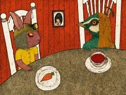 写一个童话,你会选哪两种动物作为故事的主角?