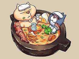 一锅猫的日常漫画