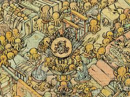 地下印刷工厂