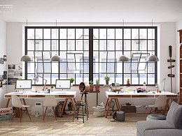青脊·Design studio丨工作室场景