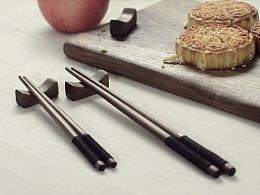 [ 筷 子 ] 手工木制筷子制作(庆祝中秋)