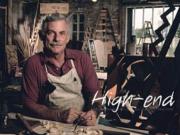 匠心·终成极致 美式实木家具高品质详情页 别墅级质感欧美优秀页面设计