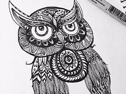 百图斩-黑白线稿