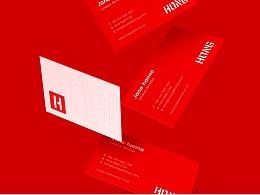 HEREidea英合创意 原创作品:红透传媒品牌视觉设计