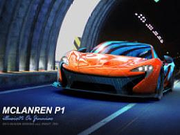 mclanren p1