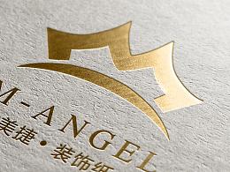 美捷装饰纸logo提案