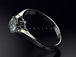 Cartier产品渲染for Cinema4d