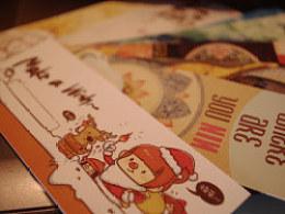 *MERRYCHRISTMAS*TVL圣诞系列贺图+明信片+书签+自制小画