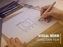 洞天影视LOGO提案及视觉延展