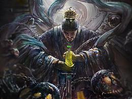 《道法_地狱之门》恶灵涌现2013-2016-经堂入奥森-插画-概念设定-03