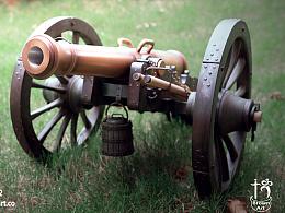 1/6 拿破仑 12磅火炮