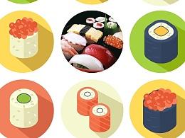 寿司图标练习