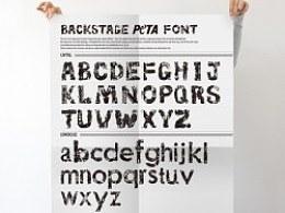 PETA动物公益保护组织字体设计-大写部分