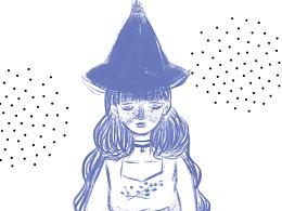 魔女小速写