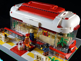 【GS的MOC】未来悬浮巴士