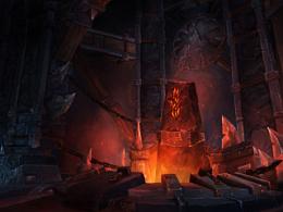 魔兽6.0场景 2D作业