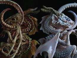 RAVEN ART-言传作品【藏谜探物02-幼龙标本】白化色