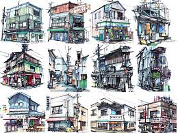 【日本】手绘合集