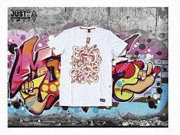 -岂止- more than product graffiti life t-shirt