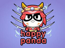 卡通熊猫or牛???