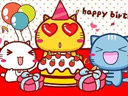 哈咪猫6岁生日快乐!