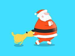 没错,我就是圣诞老人