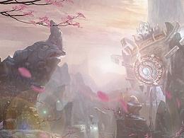 《鼎天》中国风仙侠场景