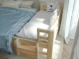 办公桌、儿童床、柜子、席梦思