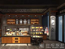四川乐山稻香麦甜面包店设计