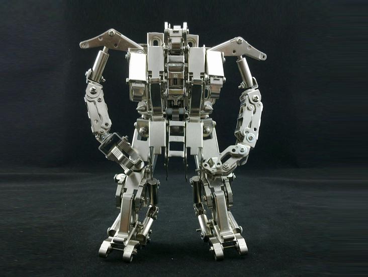 机械党 创意 机器人 模型 医护兵 diy手工 拼装