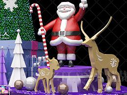 圣诞装饰#美陈景观#商业装饰