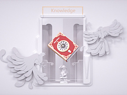 c4d作品——知识