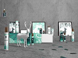 《自然精灵 / Natura Elf》护肤品牌包装设计