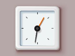 每日一练—深泽直人—闹钟—icon