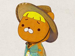 关于一只丑又不萌性格还不明显的熊