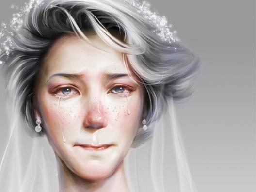 流泪的新娘_哭泣的新娘