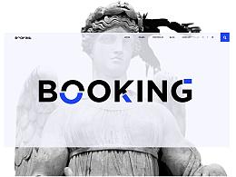 网页设计 booking