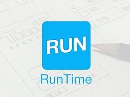 """Run Time""运动类App界面设计"