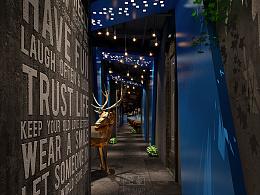 广州HUMAO网咖空间设计
