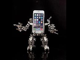 机械党  变形金刚 机器人  手机支架 手机底座  堡垒 模型