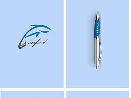 海鲜食品logo(原创)